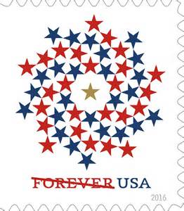 USPS First Class Stamps Forever 2016