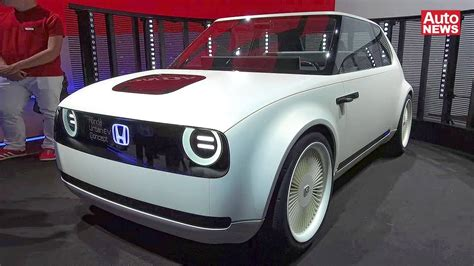 Iaa 2017 Video Honda Urban Ev Youtube