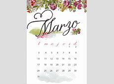 milowcostblog imprimible calendario de marzo