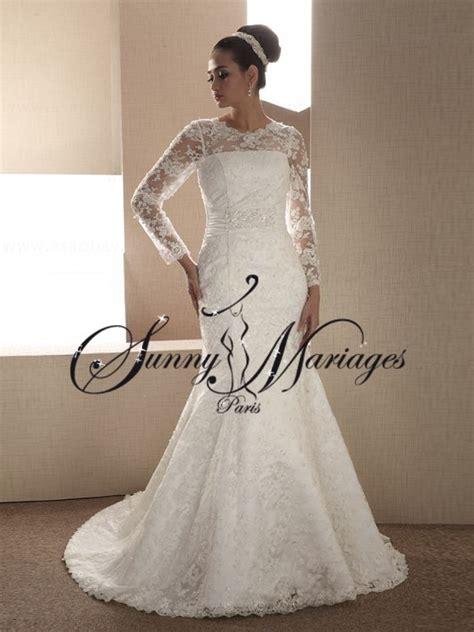 robe de mariee avec manche sunny mariage