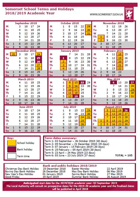 calendar vallis school