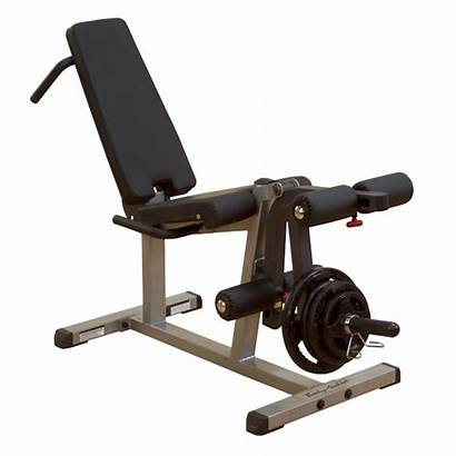 Leg Extension Supine Curl Solid Equipment Strength