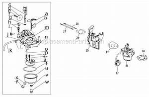 Yard Machines 31as62ee700 Parts List And Diagram