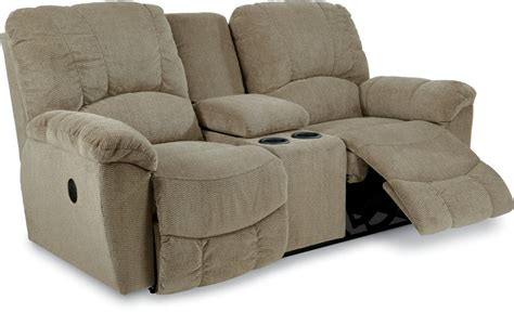 Reclining Loveseat With Middle Console by Casual Power La Z Time 174 Reclining Loveseat With