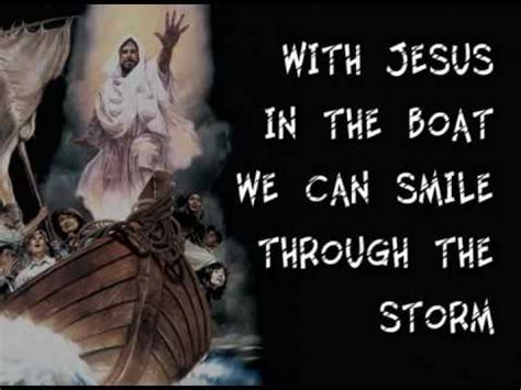 The Boat Of No Smiles by With Jesus In The Boat We Can Smile Through The