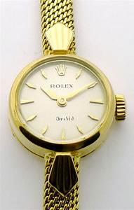ROLEX ORCHID 18ct DAMEN UHR IM COOLEN 60ties DESIGN MIT