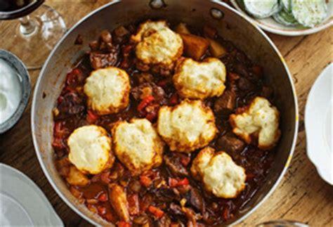 hungarian beef goulash  paprika  dumplings recipe
