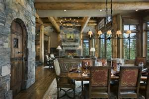 Tudor Fireplace by Cowboy Heaven A Warm Rustic Retreat Decoholic