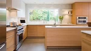 Cuisine en bois quelle couleur pour les murs de la piece for Idee deco cuisine avec meuble scandinave bois
