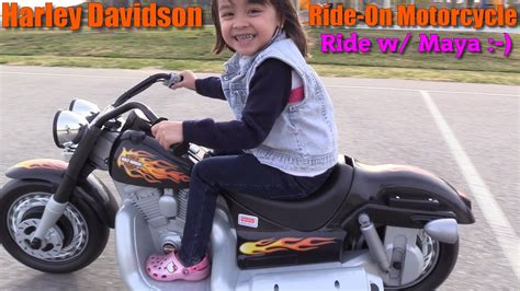 Fisher-price Power Wheels. Harley Davidson Motorcycle Ride