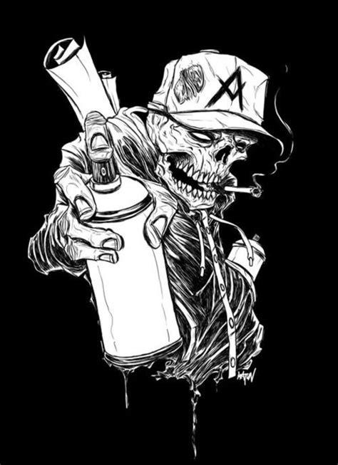 Skulls Cool tattoos and Tattoo ideas on Pinterest | Graffiti tattoo, Graffiti styles, Graffiti art