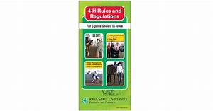 Rules And Regulations For 4