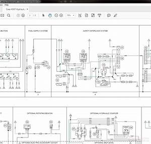 Case 40xt Hydraulic  U0026 Wiring Diagram