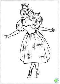 Barbie Nutcracker Coloring Pages