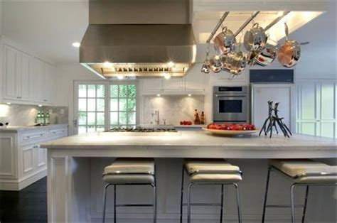 Built In Pot Rack   Contemporary   kitchen   HGTV