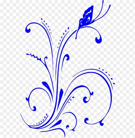 elegant border royal blue wedding invitation background