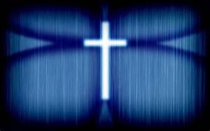 Glowing cross wallpaper - 465835