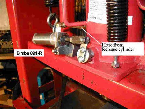 ton air  hydraulic press