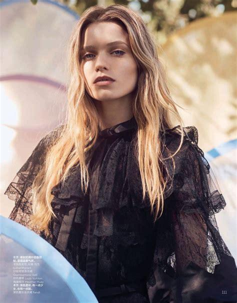 Abbey Lee Kershaw Vogue Madgazine China July 2019 Photos
