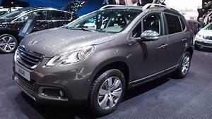 Peugeot 2008 2 : 2015 peugeot 2008 style 1 2 puretech 110 exterior and interior walkaround youtube ~ Medecine-chirurgie-esthetiques.com Avis de Voitures
