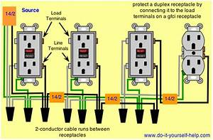Ground Fault Circuit Interrupter Wiring Diagrams