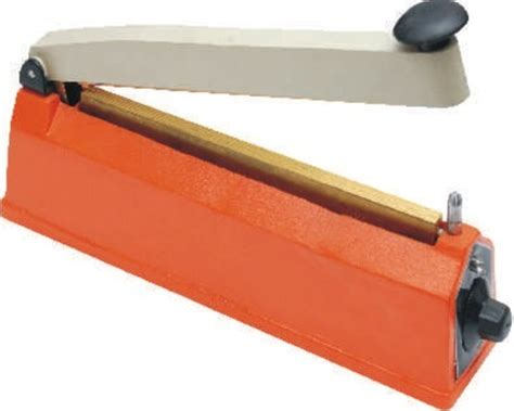 packaging machines hot bar hand heat sealing machine manual sealer manufacturer  delhi