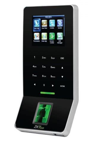 zkteco  biometric time attendance wi fi access control