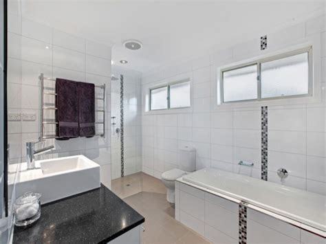 bathroom feature tile ideas modern bathroom design with recessed bath tiles