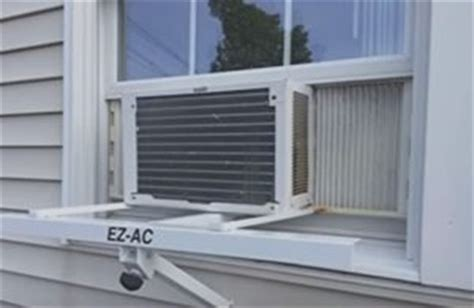 air conditioner shelf how to support a window air conditioner hvac how to