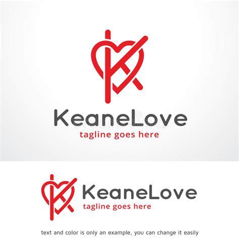letter   love logo template design vector emblem