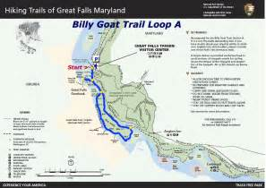 Great Falls Billy Goat Trail Map