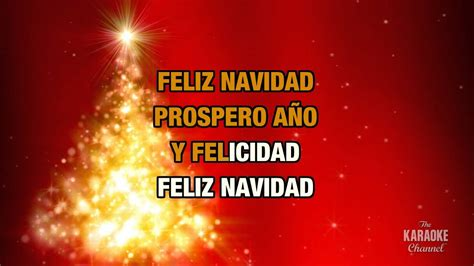 jose feliciano karaoke feliz navidad jos 233 feliciano karaoke with lyrics youtube