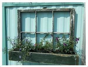 It s written on the wall old windows use them in so many