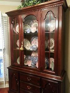 Cherry Dining Table, Chairs, China Cabinet - should I