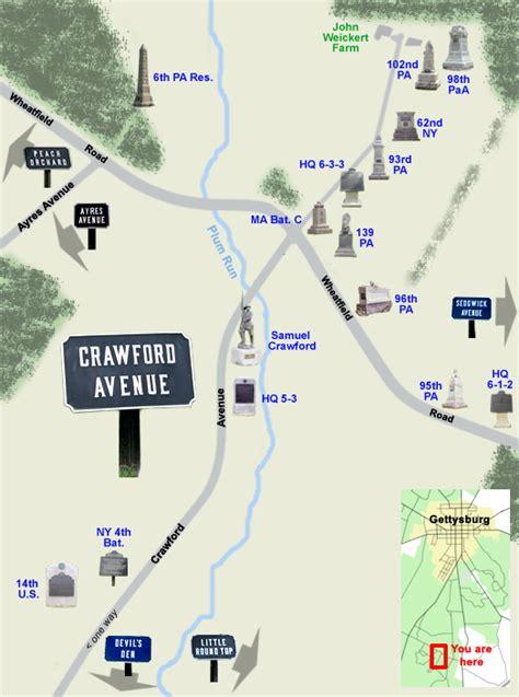 crawford avenue   weickert farm  gettysburg