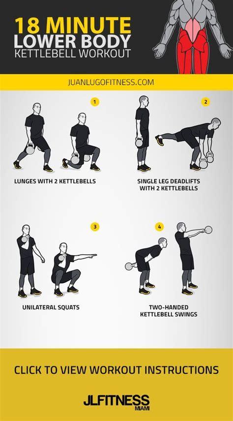 kettlebell body lower workout workouts training deadlift exercises circuit routine results challenge kettlebells minute beginner programs fitness crossfit program juanlugofitness
