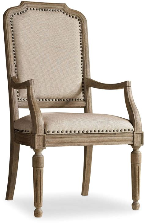corsica light wood upholstered arm chair set of 2 5180
