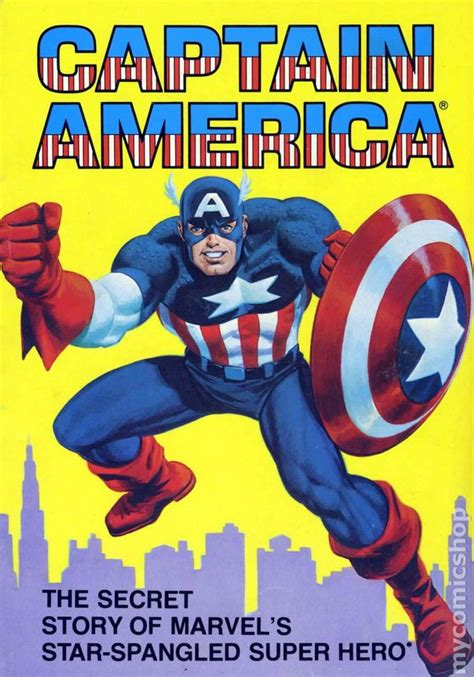 Captain America The Secret Story Of Marvel's Starspangled Super Hero Tpb (1981 Ideals) Comic Books