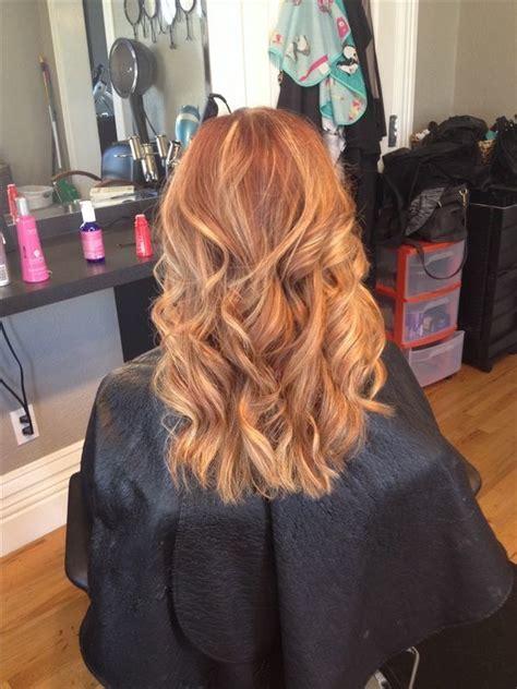 couleurs cheveux automne   belles  de