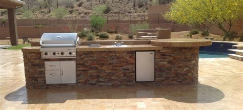 Backyard Built In Bbq by Patio Portfolio Scottsdale Built In Bbq Grills