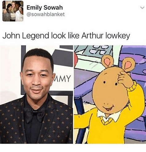 John Legend Meme - arthur meme blue ivy watching too much arthur sizzle
