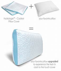 a pillow cover set designed to keep your head cool With best pillow to keep your head cool