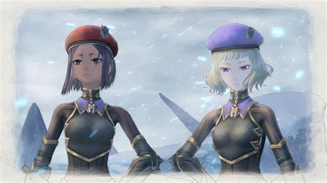 valkyria chronicles  screenshots show  squad members