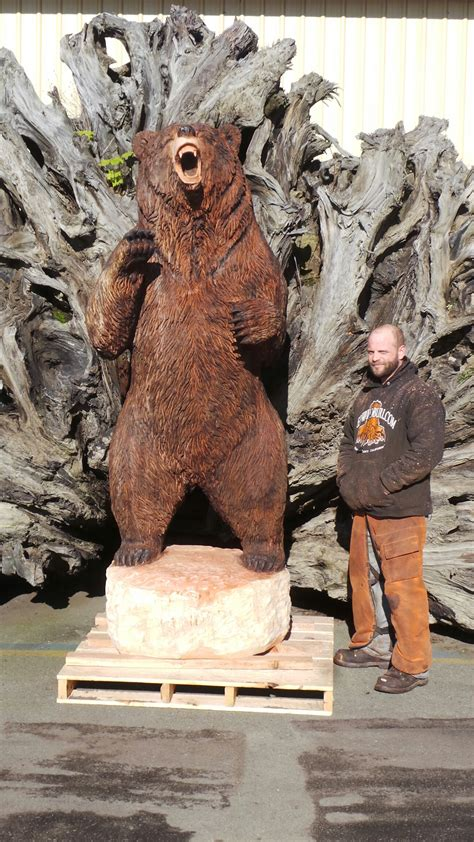 Wood Sculptures   Large Redwood Carvings   Redwood Burl Inc.