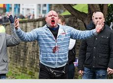Dover sees antimigrant thugs daub swastikas in BLOOD amid