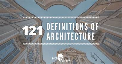 Architecture Definitions Definition Context Archdaily Quotes