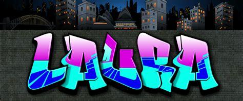 Grafiti Ivan : Graffitis Con El Nombre De Laura