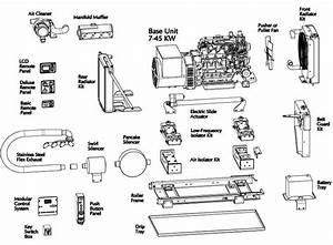Motor Coach Generator Parts Diagram