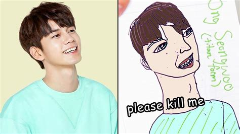 drawing kpop idols  memory scary youtube