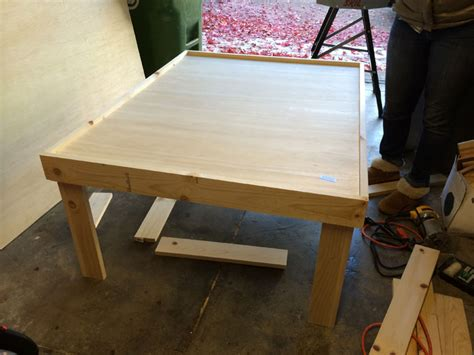 diy train table top do it yourself wooden train table in less than 24 hours